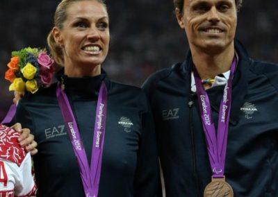 andrea giocondi e annalisa-minetti-paralimpiadi-2012-medaglia-bronzo